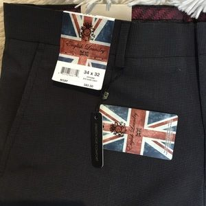 🇬🇧 English Laundry Men's Pant Dark Grey NWT